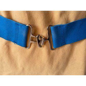 Blue Stretch Belt